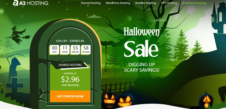 A2 Hosting đang mừng Halloween với chương trình giảm giá hấp dẫn