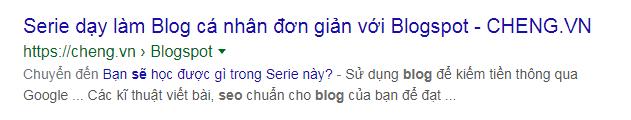 Blog của Chen