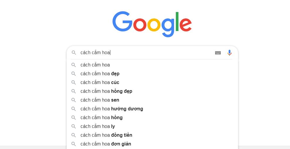 Trả lời các câu hỏi gợi ý của google